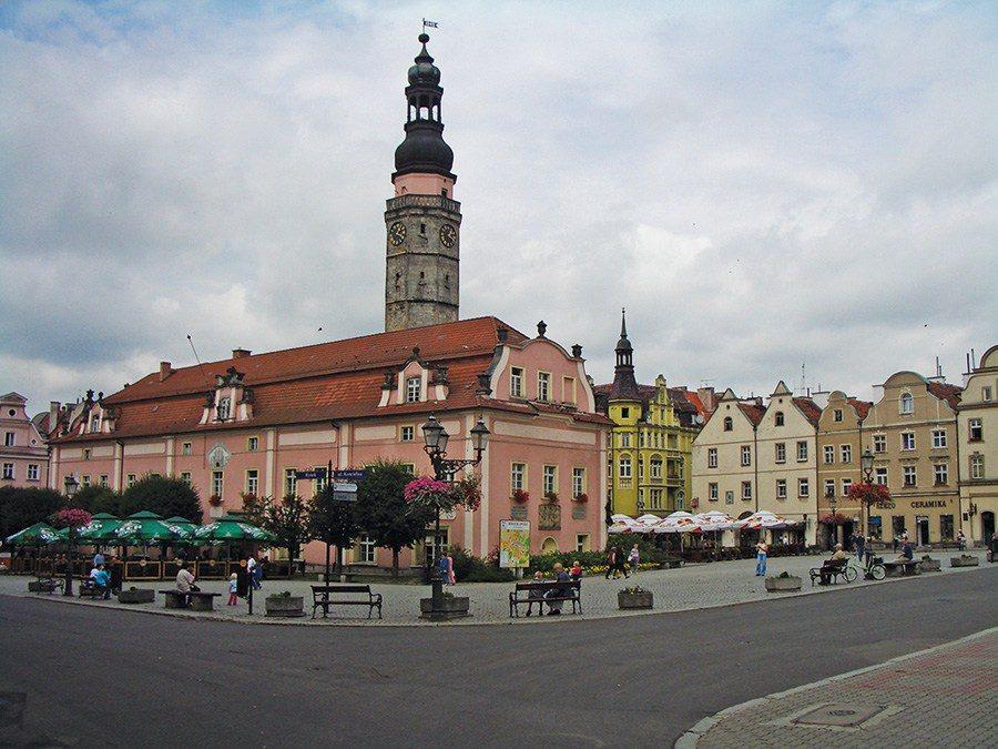 Blue Beetroot Hotel, Boleslawiec, Lower Silesia, Poland